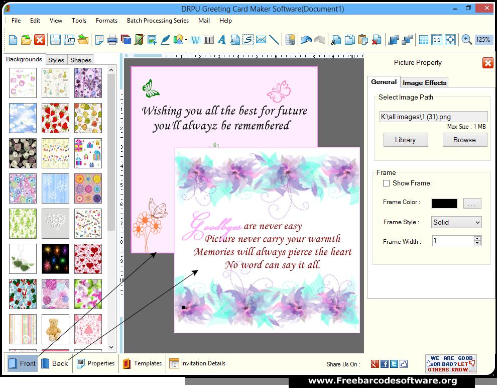 Arcsoft greeting card creator free download